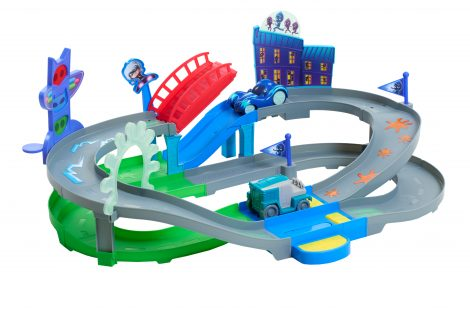 PJ Masks Rev-N-Rumblers Track Playset