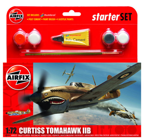 Airfix Curtiss Tomahawk IIB 255101