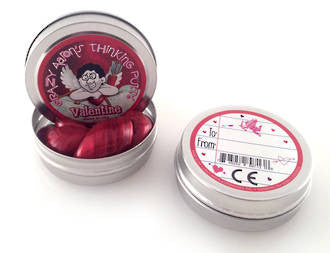 Logical Toys Aarons Thinking Putty - Valentines Day ca-va003