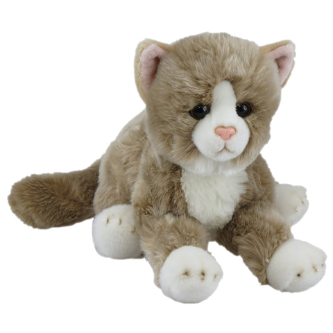 Soft Cats Beige Lying 36cm