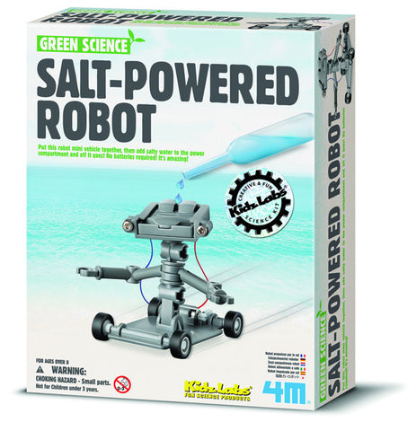 4M Salt-Powered Robot 3353ld