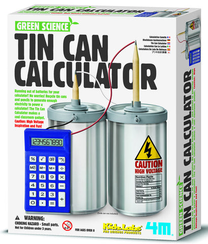 4M Green Science - Can Calculator 3360ld