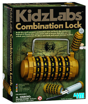 4M Kids Labs - Combination Lock 3362