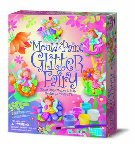 4M Mould & Paint Glitter Fairy 3524ld
