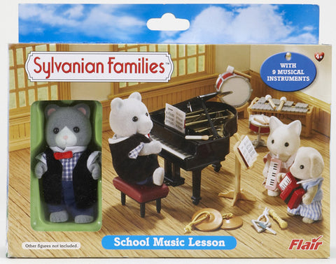 Sylvanian Families School Music Lesson 4415