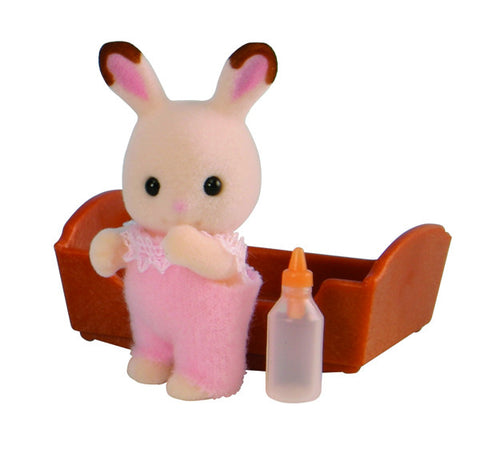 Sylvanian Families Chocolate Rabbit Baby 5062