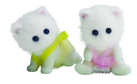 Sylvanian Families Persian Cat Twins 4474