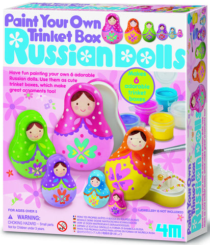 4M Russian Dolls Trinket Box 104617