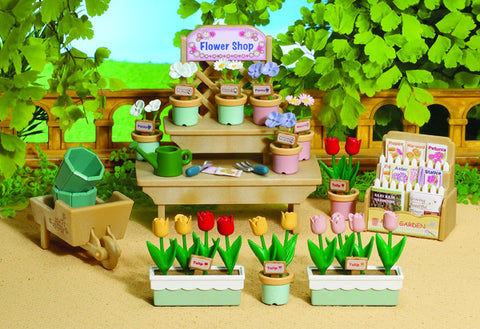 Sylvanian Families Village Flower Stall 4864