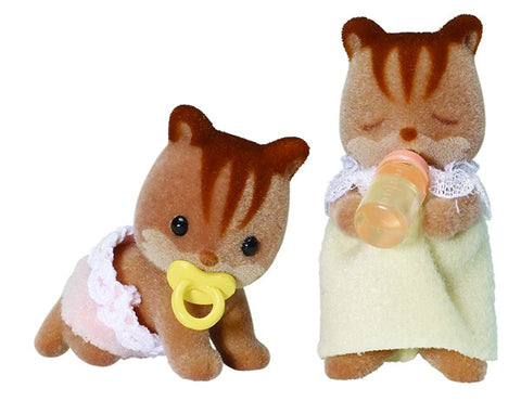 Sylvanian Families Walnut Squirrel Twins 4885