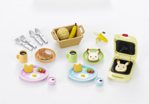 Sylvanian Families Breakfast Set 5024