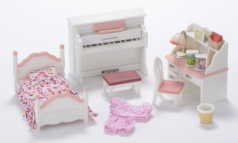 Sylvanian Families Girls Bedroom Set 5032