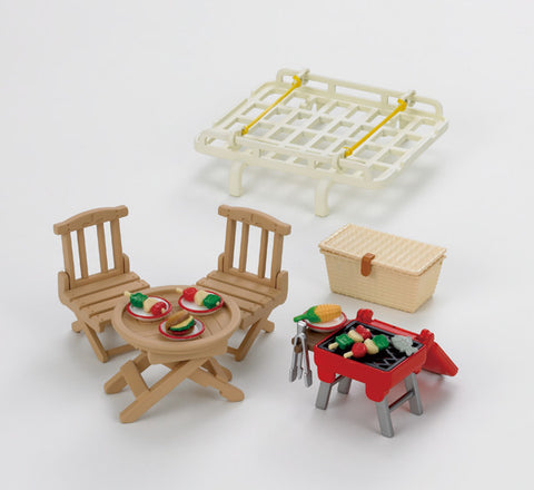 Sylvanian Families Roof Rack with Picnic 5048