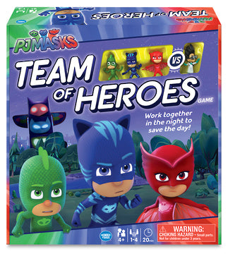 PJ Masks Team of Heroes Game