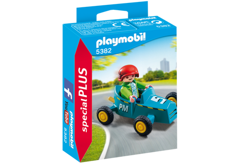 Boy with Go-Kart - 5382
