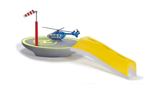 Siku Siku World City Heliport with Helicopter sku5506