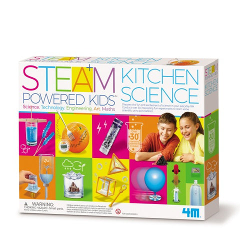 Steam Powered Kids Kitchen Science