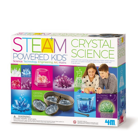 Steam Powered Kids Crystal Science