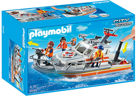 Playmobil Rescue Boat with Water Hose 905540