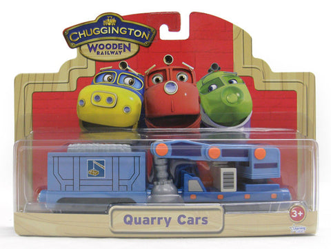 Chuggington Quarry Cars 56015