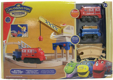 Chuggington Crane and Tunnel Fig 8 Set 56723
