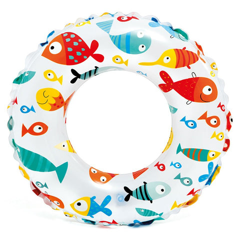 "Intex Lively Print Swim Rings 24"" Assorted - 59241 59241"