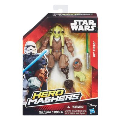 Star Wars Starwars Hero Mashers - Kit Fisto b3656as5