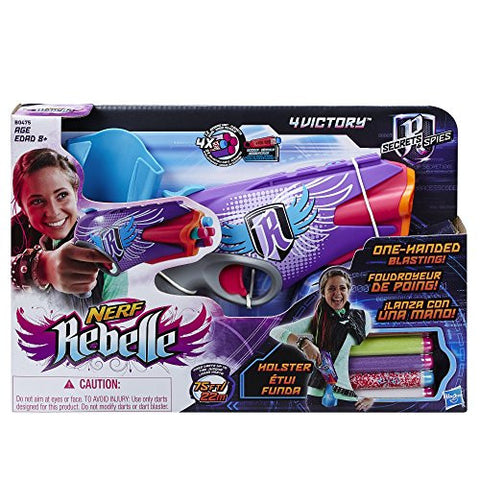 Nerf Nerf Rebelle Secrets and Spies - 4 Victory b16291sa