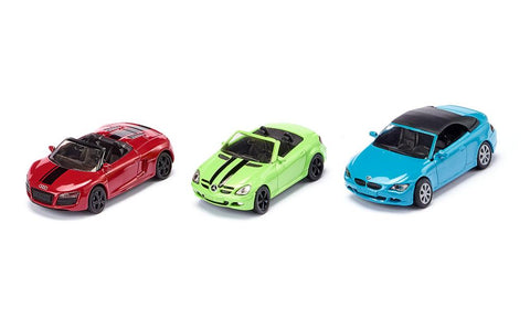 3 Piece Convertible Car Set