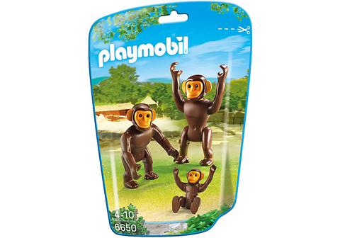 Playmobil Chimpanzee Family 906650