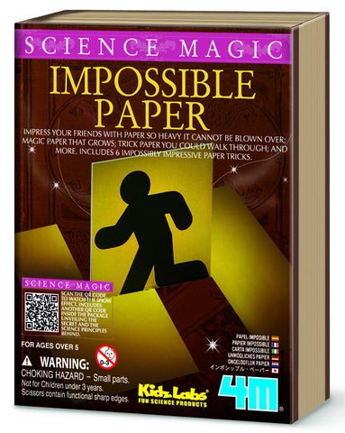 4M Science Magic Impossible Paper 6704ld