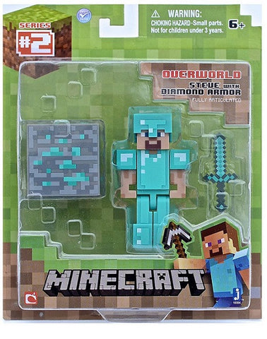 Minecraft Steve with Diamond Armor 16504hw