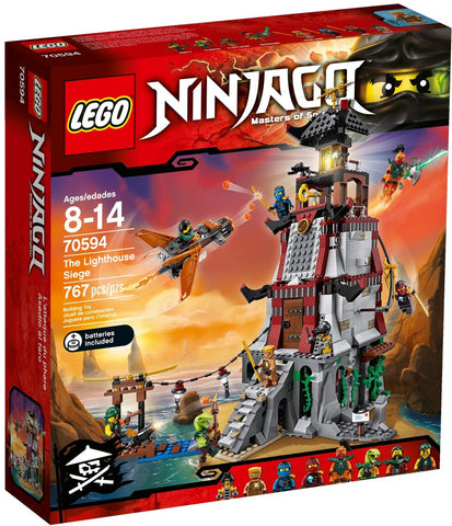 LEGO Ninjago The Light House Siege - 70594