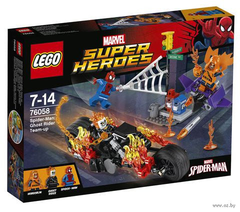LEGO Super Heroes Spider-Man: Ghost Rider Team-up - 76058