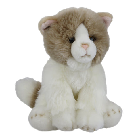 Antics Soft Cat Beige Sitting 20cm 77620
