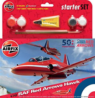 Airfix Stater Set Red Arrow Hawks 255202-1