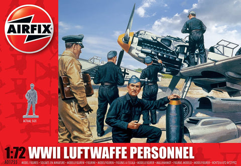 1:72 WW11 Luftwaffe Personnel