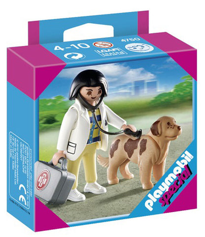 Playmobil Vet with Dog 904750
