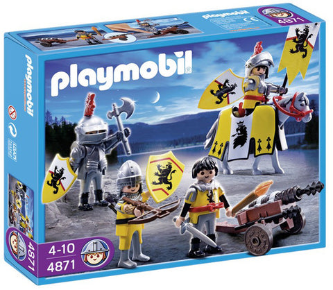 Playmobil Lion Knights Troop 904871