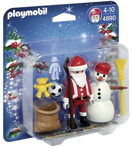 Playmobil Santa Claus with Snowman 904890h