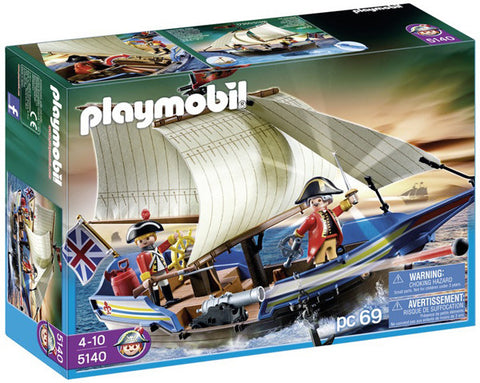 Playmobil Redcoat Battle Ship 905140