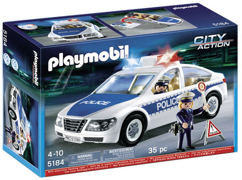 Playmobil Police Car with Flashing Light 905184