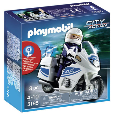 Playmobil Police Motorcycle 905185