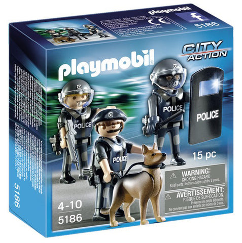 Playmobil Police Special Forces Unit 905186
