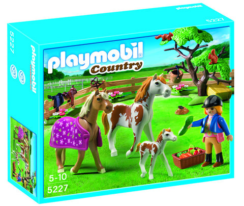Playmobil Paddock with Horses and Foal 905227