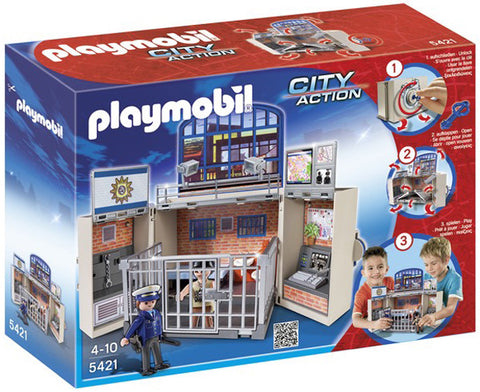 Playmobil My Secret Play Box - Police Station 905421