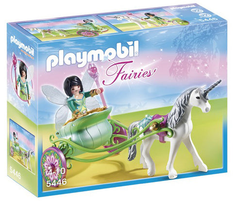 Playmobil Unicorn Carriage with Fairy 5446