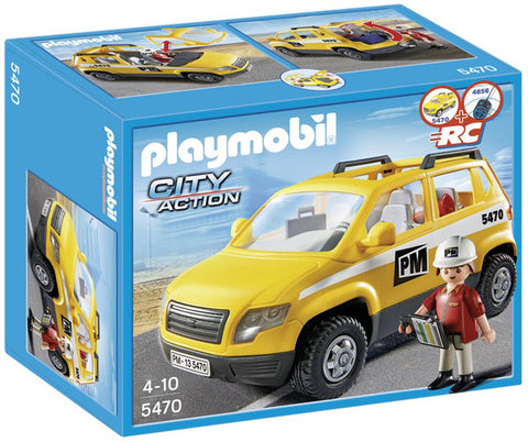 Playmobil Site Supervisors Vehicle 5470