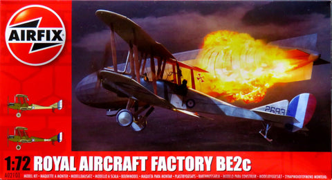 Airfix Royal Aircraft Factory Be2c 202101