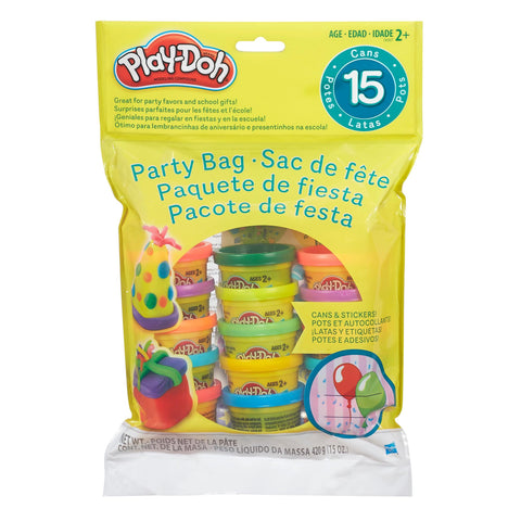 Play Doh Party Bag 15 Count Bag